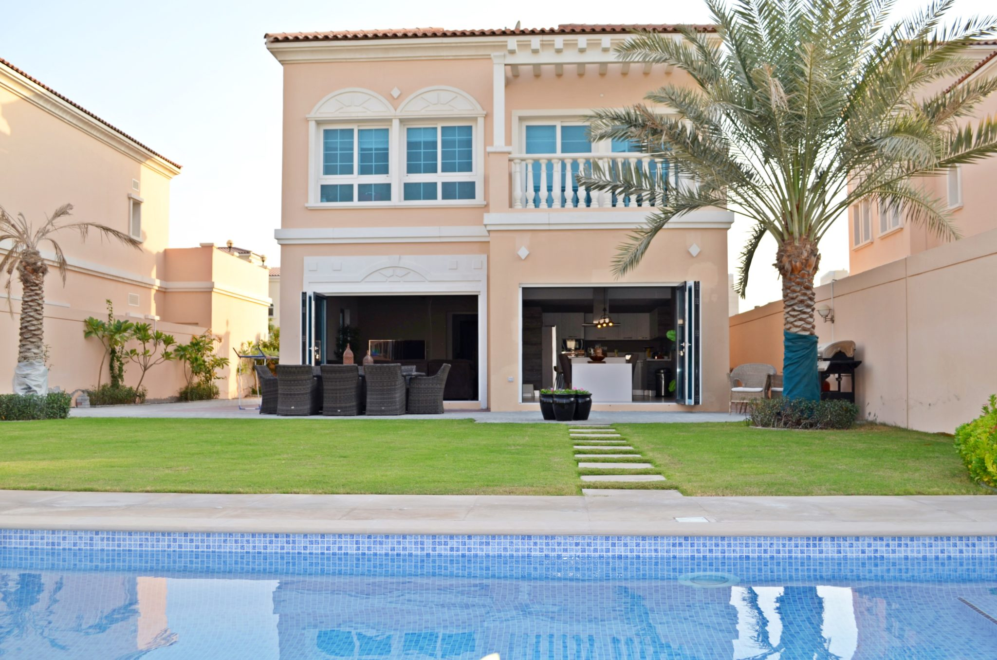 Open Backyard in JVC | Oryx Doors in Dubai